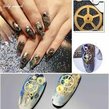 Nail Decorations Aliexpress Com Buy New 1 Box Steampunk Nail Decorations