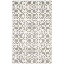 Area Rug Gray 6 X 9 Area Rugs Rugs The Home Depot