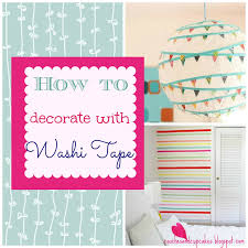 couches and cupcakes greatest washi tape decor ideas