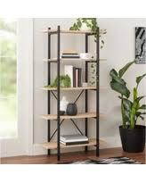 Mainstays 5 Shelf Bookcase Alder Amazing Deal On Mainstays 5 Shelf Wood Bookcase Set Of 2 Mix