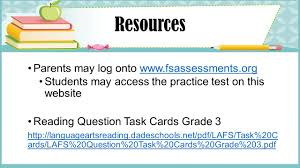 florida standards assessment third grade ppt download