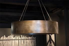Ring Chandelier Steel Ring Custom Chandelier Aspen Design Room
