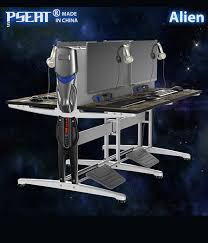 Furniture Computer Desk Pseat Gaming Table Double Row Racing Table Design Gaming And