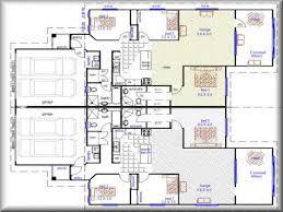 duplex house plans floor plan 2 bed 2 bath duplex house 2 bedroom duplex plans with garage modern house plan