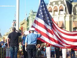Ceremony Flag Not To Be Missed At Disney World Magic Kingdom Flag Retreat Ceremony