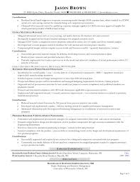 Comprehensive Resume Sample Format by Download Procurement Resume Haadyaooverbayresort Com