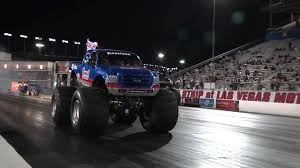 bigfoot the monster truck who will win this insane drag race the bigfoot monster truck or