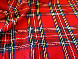 royal stewart tartan fabric per metre amazon co uk kitchen u0026 home