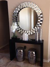 Entrance Tables And Mirrors Table Design Foyer Table Houzz Foyer Table Home Depot Foyer