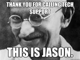Gandhi Memes - tech support gandhi memes quickmeme