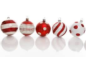 and white baubles with various designs on a white