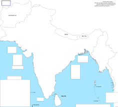 Blank India Map by A Blank Map Thread Page 133 Alternate History Discussion