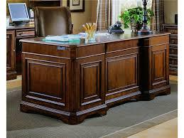 Home Office Furniture Desk Hooker Furniture Home Office Brookhaven Executive Desk Leather Top
