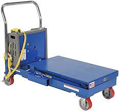 vestil cart sctab 750d dc hydraulic table cart for sale