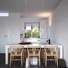 Modern White Dining Table by Kitchen Inspiring Modern White Kitchen Decoration Design Ideas