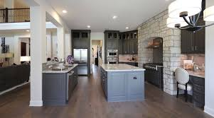 Natural Hickory Kitchen Cabinets Choose Flooring That Compliments Cabinet Color Burrows Cabinets