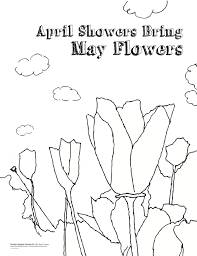 beautiful april coloring pages new coloring pages template