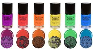 amazon com bmc 6pc bright and festive creative art stamping