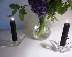 Vintage Waterford Crystal Signed 8 Inch Flower Vase In Set Of 6 Vintage Waterford White Wine Crystal Goblet Glasses