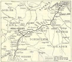 Djibouti Map The Franco Ethiopian And Djibouto Ethiopian Railway Djibouti