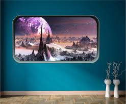 wall art red parrot signs company manchester space fantasy wall art sticker manchester salford decal graphics