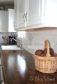 Diy Wood Kitchen Countertops Diy Beautiful Wood Countertops For Under 200 Wood Countertops