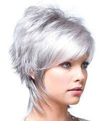 trendy gray hair styles color ideas for short hair 2013 short hairstyles 2016 2017 most