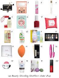 20 of the best beauty stocking stuffers under 20 beautyeditor