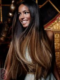 african american hairstyles color streaks a fabulous long black and brown hairstyle ideas with highlights