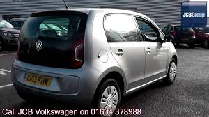 2013 volkswagen up move up 1l tungsten silver metallic gu13fhw for