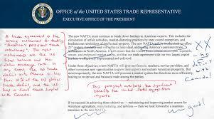 trump u0027s nafta agenda u2014annotated and explained piie