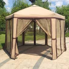 gazebo mosquito netting 12 x 8 garden gazebo with mosquito netting outdoor patio