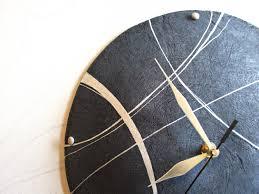 funky clock amazing contemporary wall clocks diy projects