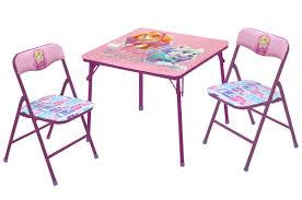 paw patrol kids table set idea nuova nickelodeon paw patrol skye and everest kid s 3 piece