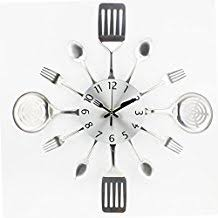 couvert de cuisine amazon fr horloge couvert