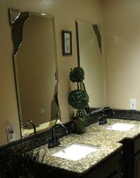 Beveled Bathroom Mirrors Custom Mirrors Including Chipped Edge Beveled And Complete