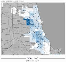 Chicago Shootings Map by Chicago Illinois Bloviating Zeppelin