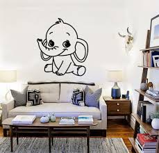 compare prices funny elephants online shopping buy low price children room wall stickers vinyl decal baby elephant animal kids nursery funny decals