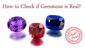 real crystal rings images How to check if gemstone is real gem testing lab how to test jpg