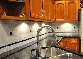 Design Your Own Backsplash by Black Granite Countertops With Tile Backsplash Home Interior Design
