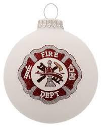 vintage hallmark ornament firefighter