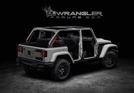 jeep wrangler pickup 2017 renderings new jeep wrangler jlu brought to life 2018 jeep