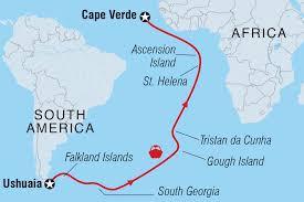 cape verde map world ushuaia to cape verde via the atlantic islands argentina tours