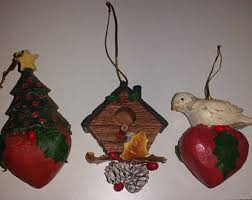 turtle dove ornament etsy