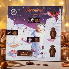 large snowman advent calendar collection thorntons