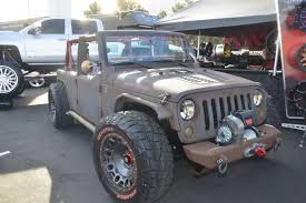 lowered 4 door jeep wrangler 004 sema 2015 trends lowered jk photo 91110855 trends that make