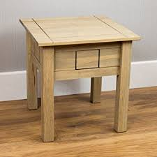 home discount lamp table pine occasional side or end table waxed