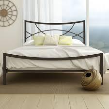 modern metal bed frames interior design