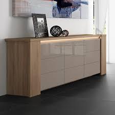Buffet Salon Blanc Laque by Buffet Moderne On Decoration D Interieur Moderne Design Serpa Prix