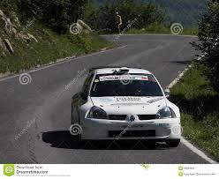 renault clio rally car renault clio rally car editorial stock image image of province